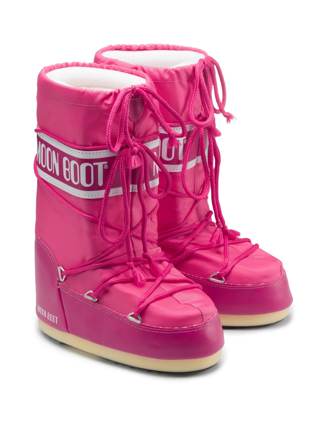 MOON BOOT boots pink for girls| NICKIS.com