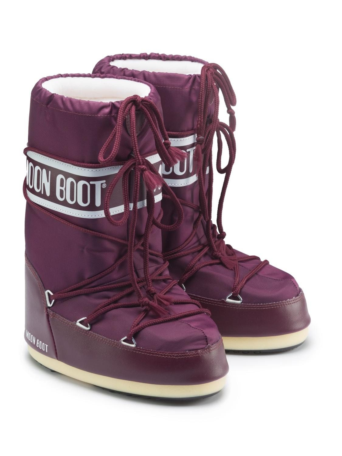 MOON BOOT boots red for girls| NICKIS.com