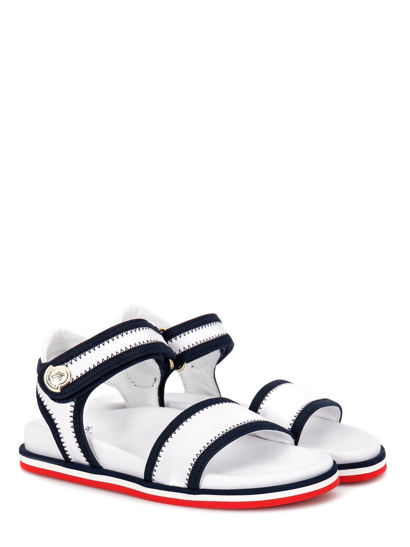 MONCLER sandals MYRTILLE white for