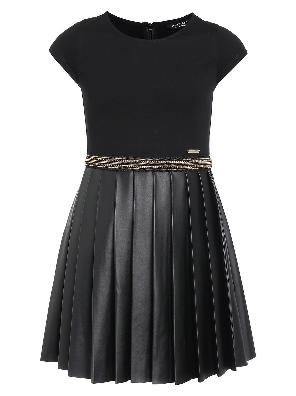 GUESS Kleid schwarz für Mädchen| NICKIS.com