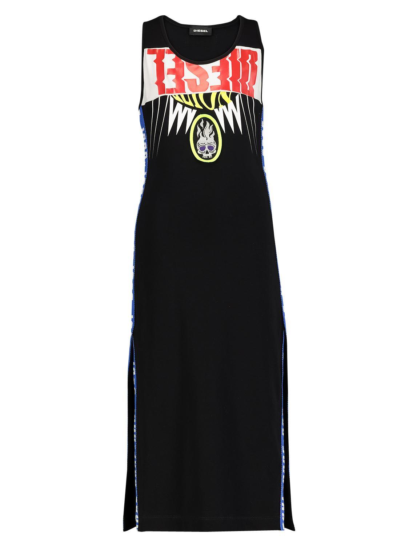 DIESEL Kleid DSAMM DRESS schwarz für Mädchen| NICKIS.com