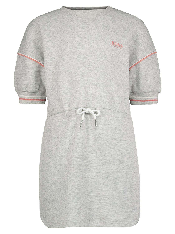 BOSS Kleid grau für Mädchen| NICKIS.com