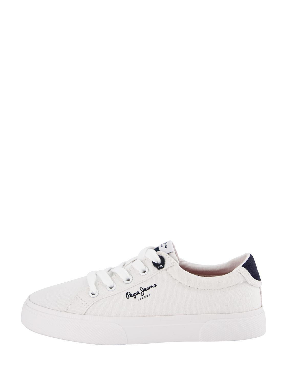 Pepe Jeans Sneakers Kenton Basic White For Boys Nickis Com