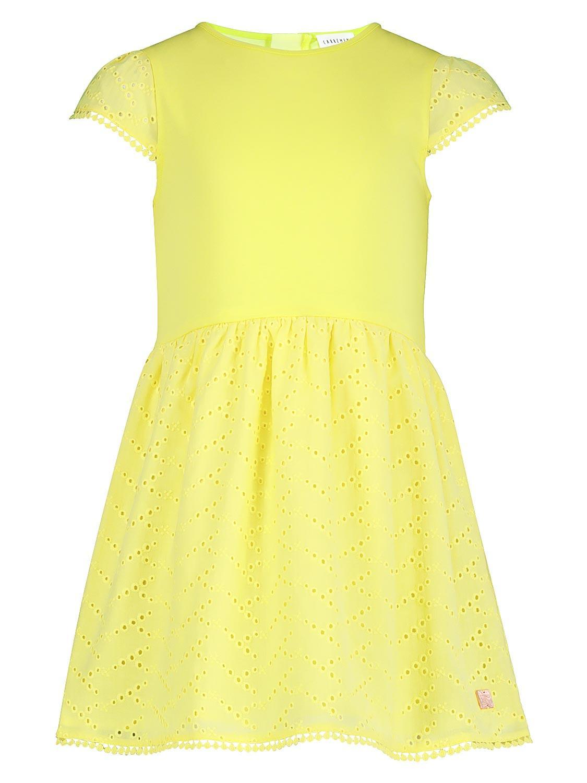 CARREMENT BEAU Kleid gelb für Mädchen  NICKIS.com