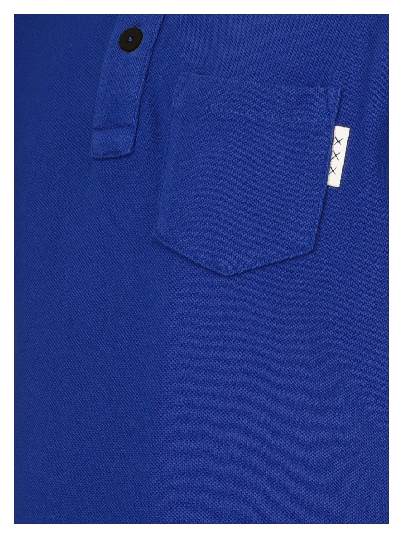 Scotch /& Soda Boys Garment Dyed Polo Shirt