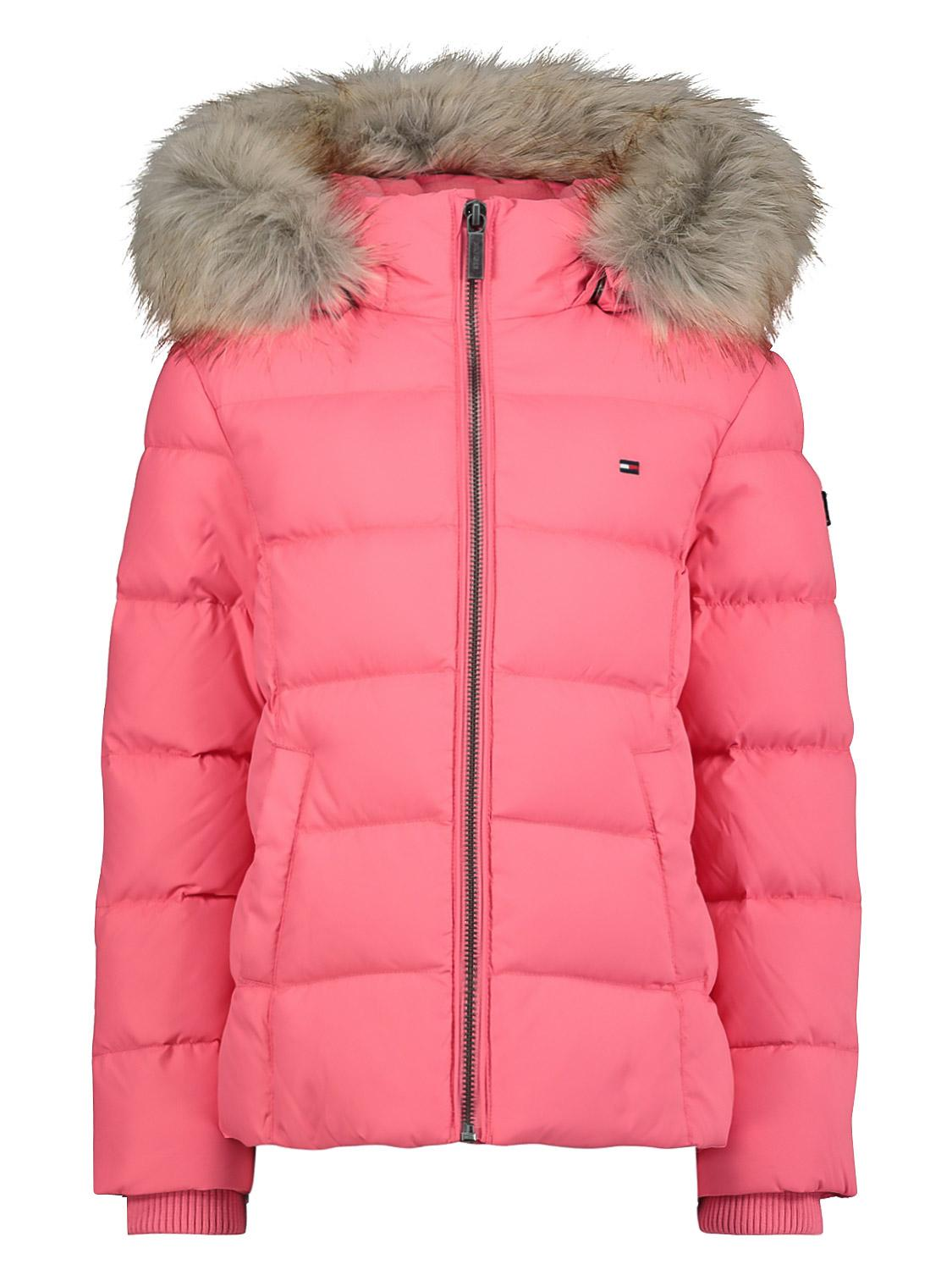 Tommy Hilfiger Essential Basic Down Jacket Giacca Bambina