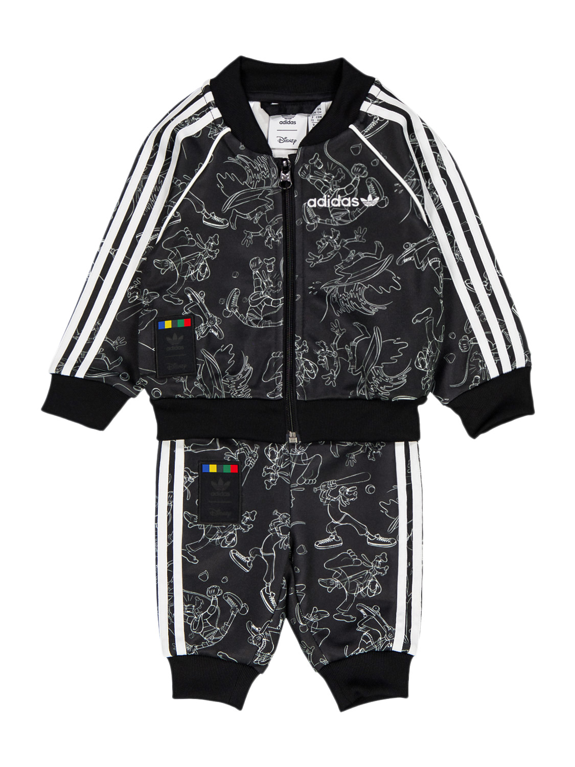 Adidas Originals Cottons KIDS JOGGING SUIT GOOFY FOR FOR BOYS AND FOR GIRLS