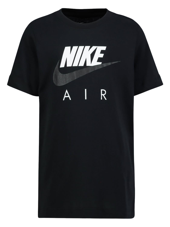Nike Kids T-shirt For Boys In Black