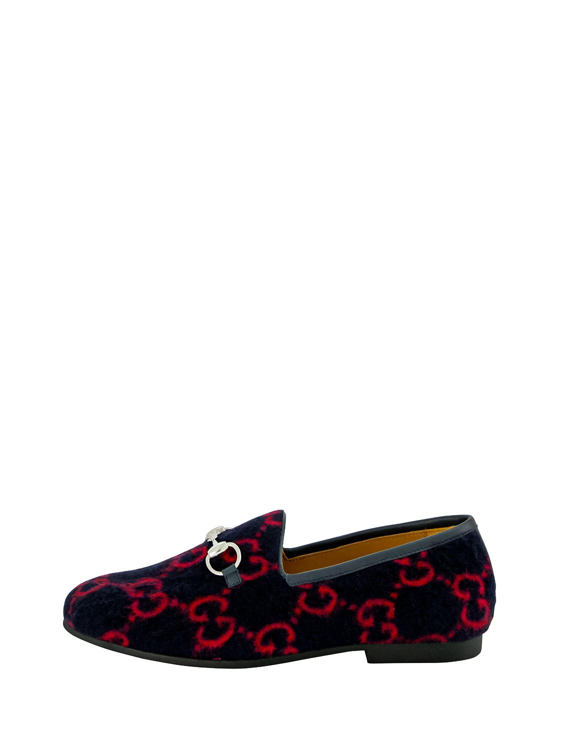 GUCCI loafers blue for girls| NICKIS.com