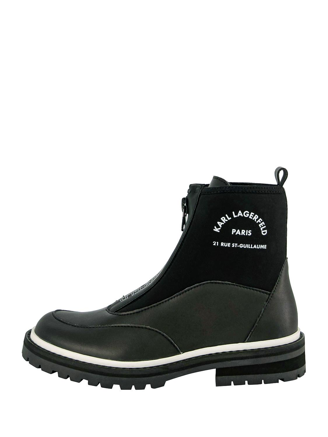 KARL LAGERFELD Ankle Boots black for