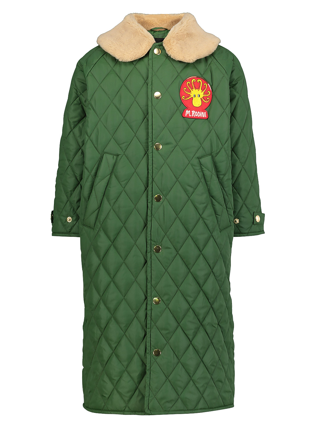 Mini Rodini KIDS COAT DIAMOND QUILTED FOR FOR BOYS AND FOR...