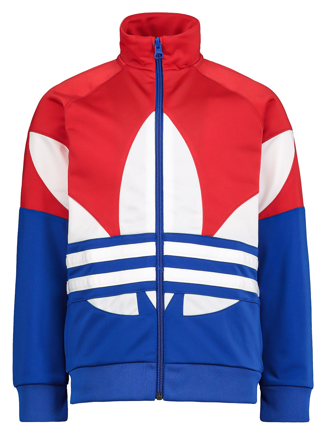 Adidas Originals KIDS SWEAT JACKET BIG TREFOIL FOR FOR BOYS AND FOR GIRLS