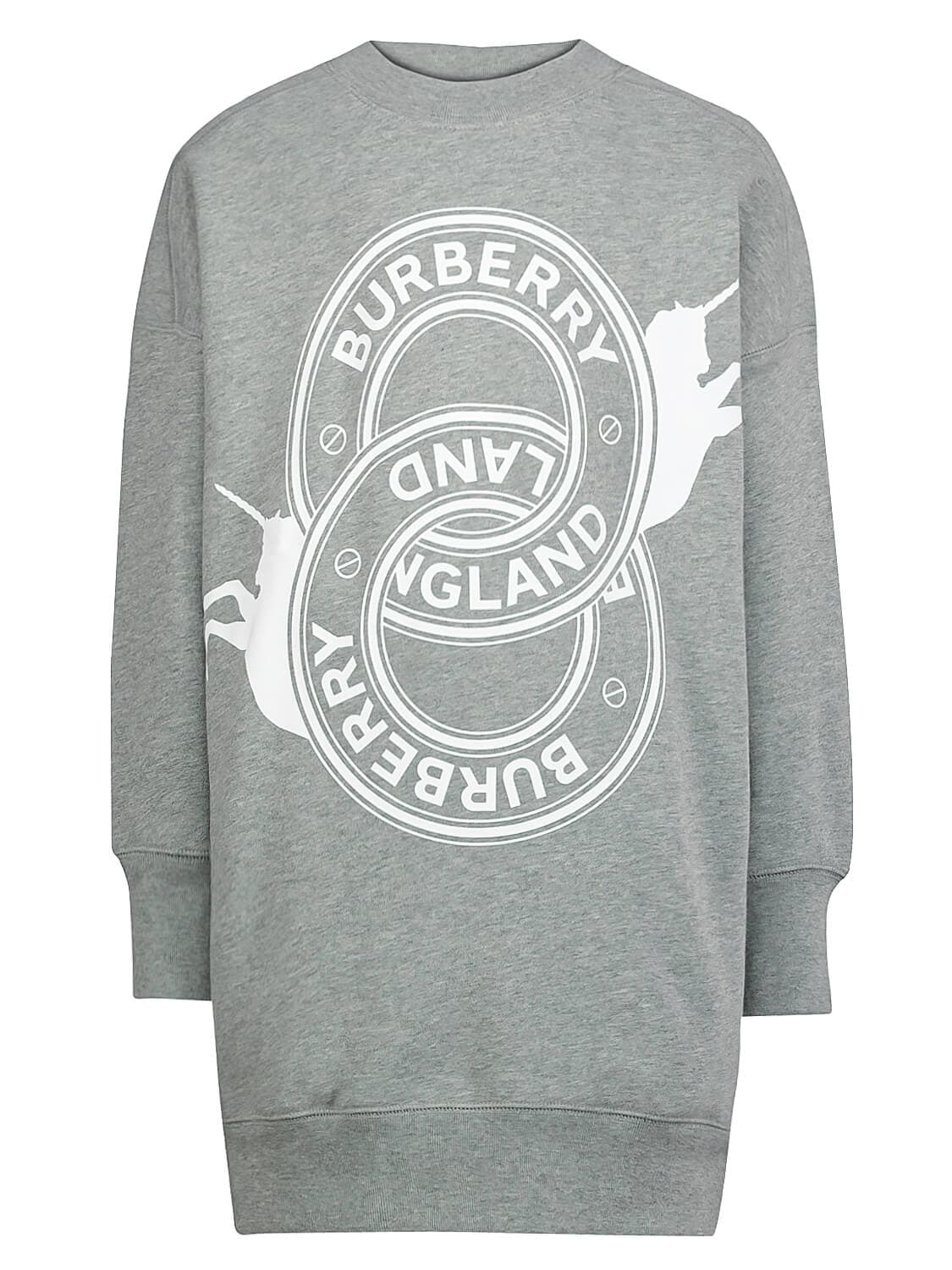 Burberry Kids In Grey