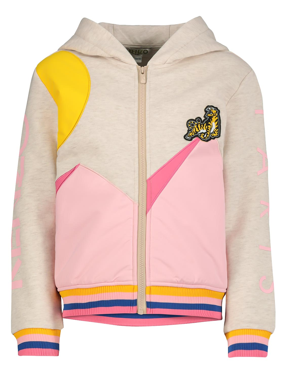 Kenzo chaqueta de sudor KAITLYN para nias, beige, 4 aos (104 cm)