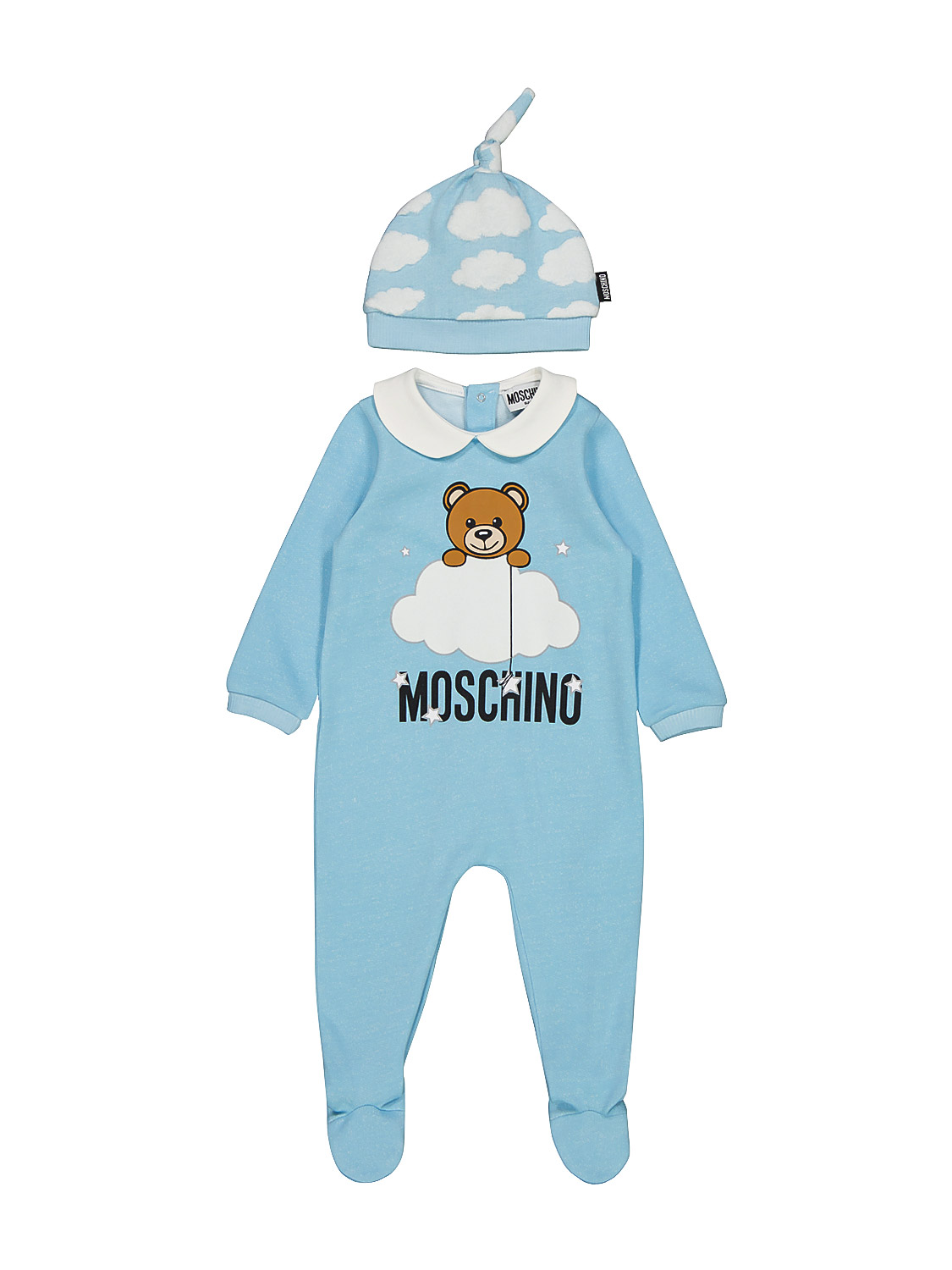 Moschino Cottons KIDS BABYGROW FOR BOYS