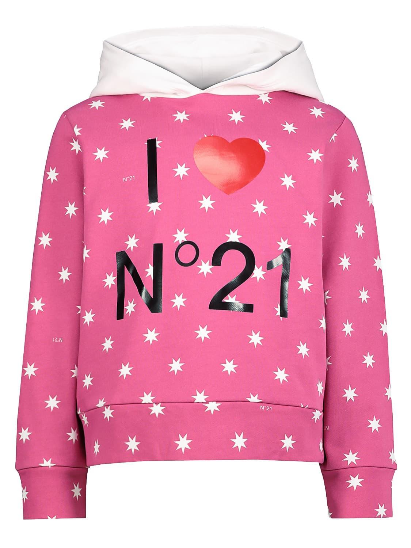 N°21 KIDS HOODIE FOR GIRLS