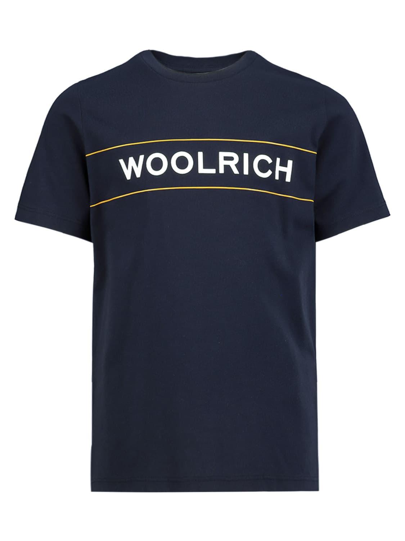 Woolrich Cottons KIDS T-SHIRT B'S LUXE LOGO TEE FOR BOYS