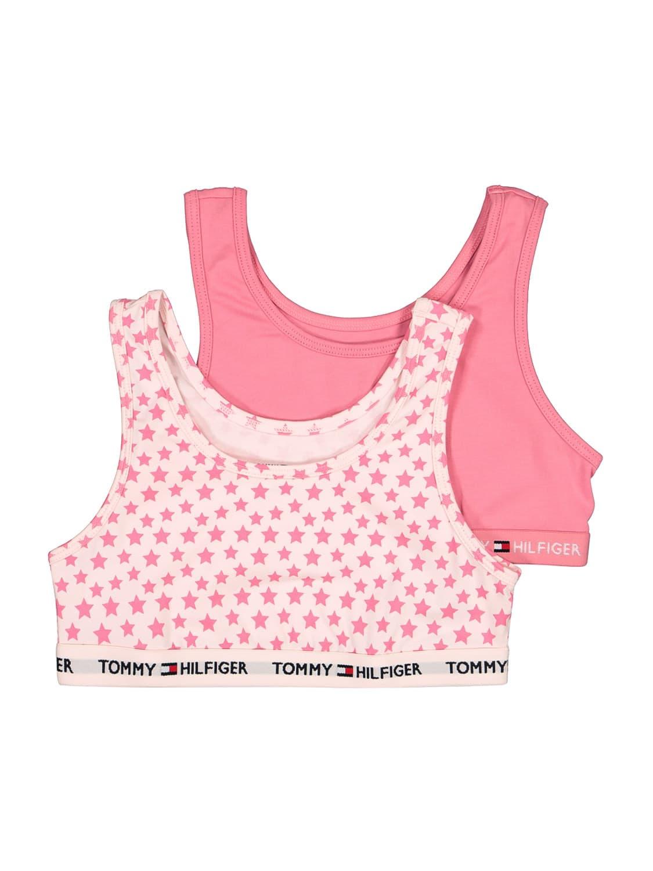 Tommy Hilfiger KIDS BUSTIER 2P BRALETTE PRINT FOR GIRLS