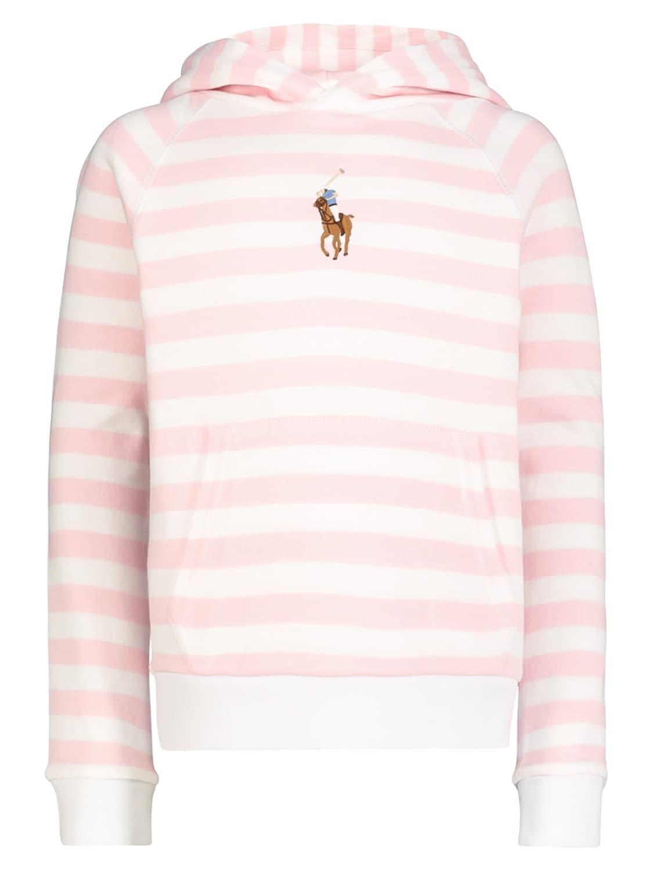 Polo Ralph Lauren Cottons KIDS HOODIE FOR GIRLS