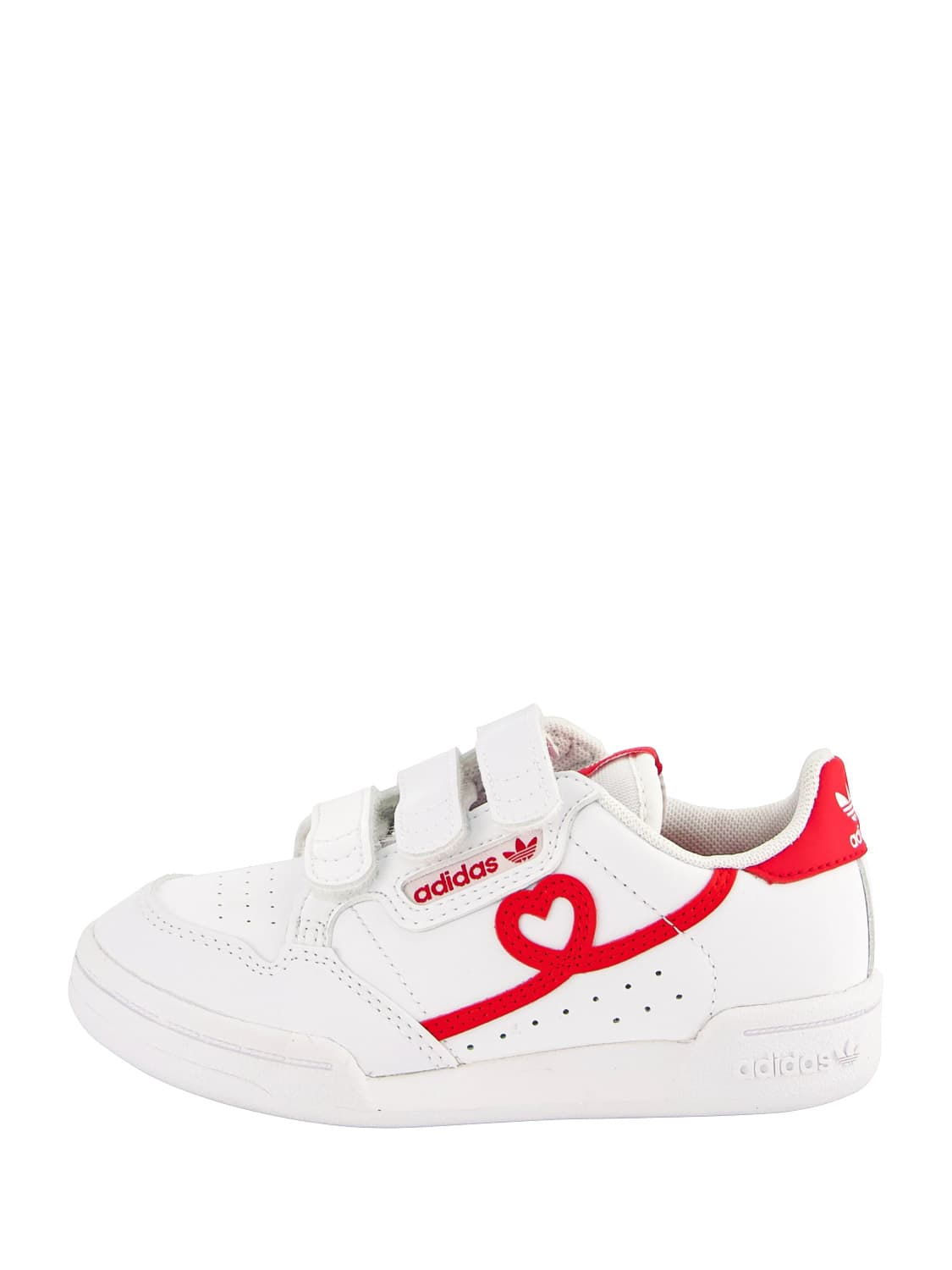 Adidas Originals Leathers KIDS SNEAKERS CONTINENTAL 80 CF C FOR FOR BOYS AND FOR...