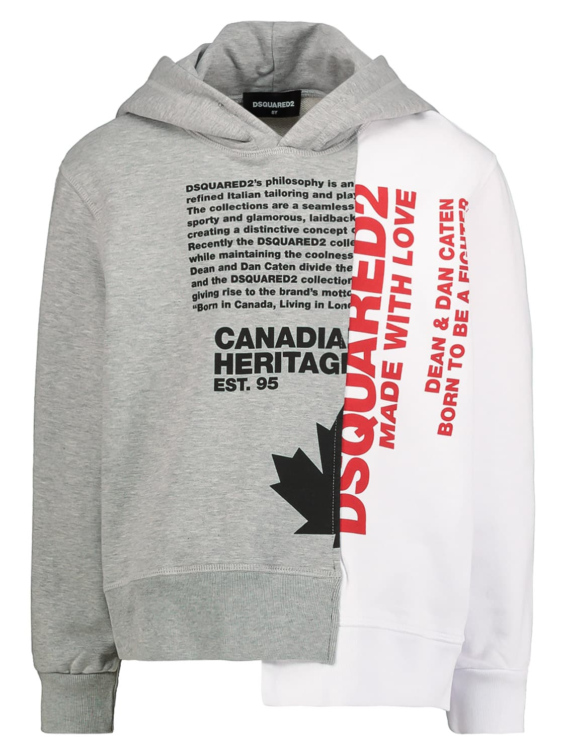 Dsquared2 KIDS HOODIE FOR FOR BOYS AND FOR GIRLS