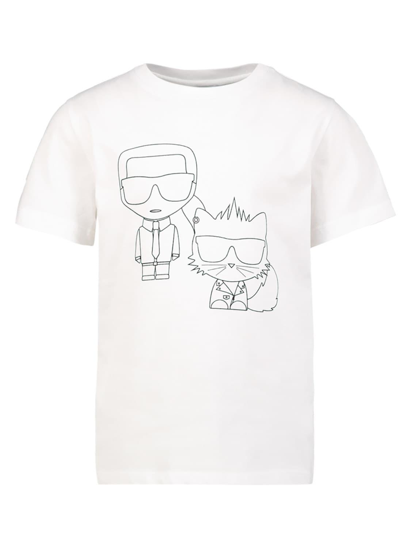 Karl Lagerfeld KIDS T-SHIRT FOR BOYS