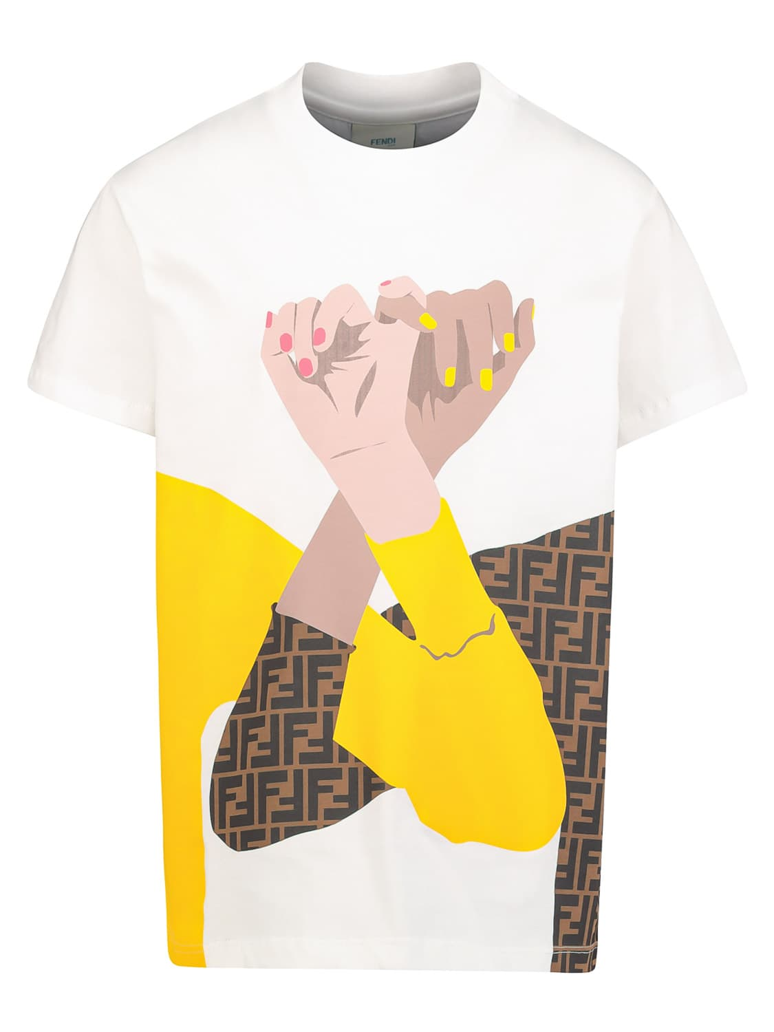 Fendi KIDS T-SHIRT FOR GIRLS