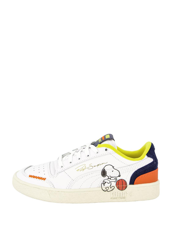 PUMA sneakers Ralph Sampson Peanuts white | NICKIS.com
