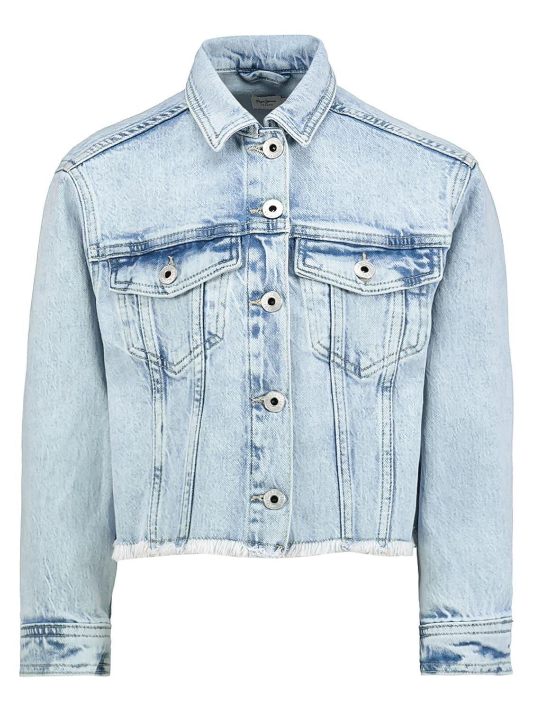 Pepe Jeans Jacket Nicole Jacket Blue For Girls Nickis Com