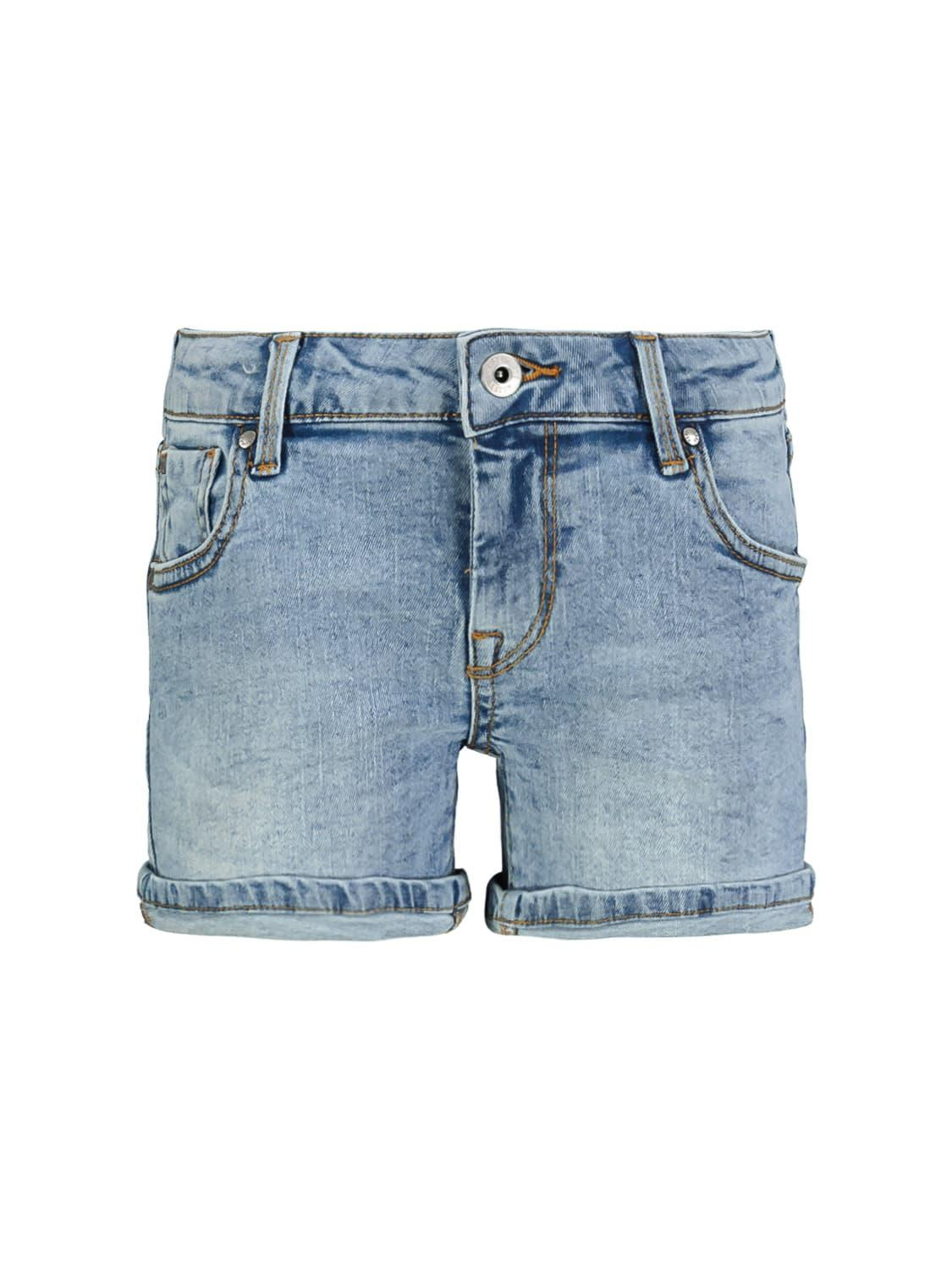 Pepe Jeans Shorts Foxtail Short Blue For Girls Nickis Com
