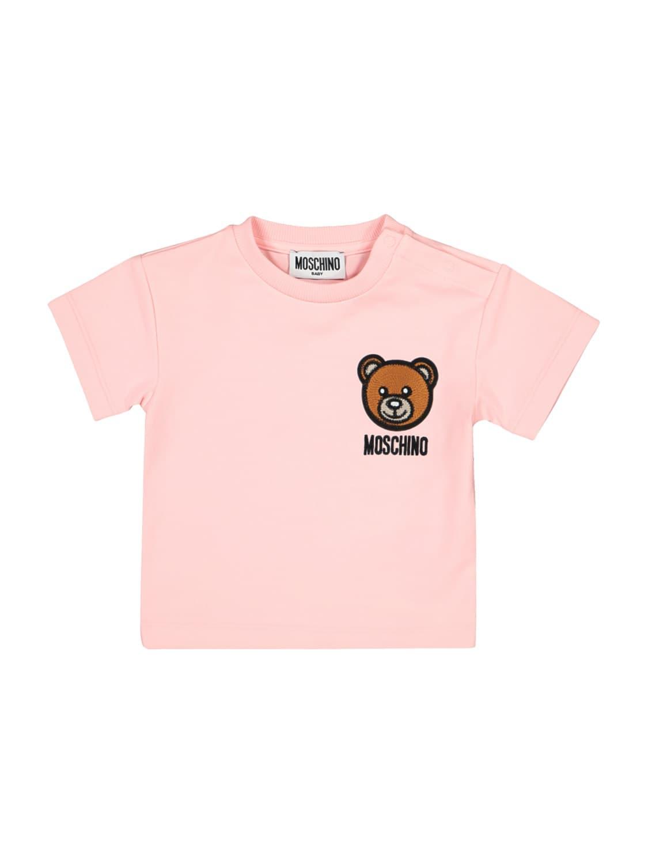 Moschino Cottons KIDS T-SHIRT FOR GIRLS