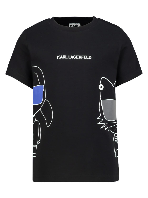 Karl Lagerfeld Cottons KIDS T-SHIRT FOR BOYS