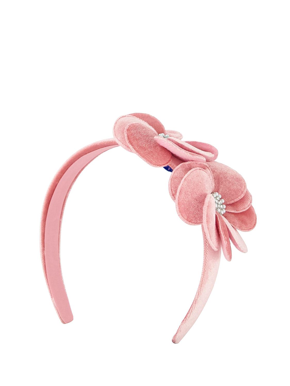 Mayoral Kids Hair Circlet For Girls In Pink